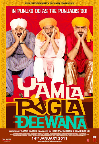 Yamla Pagla Deewana (2010) Movie Poster
