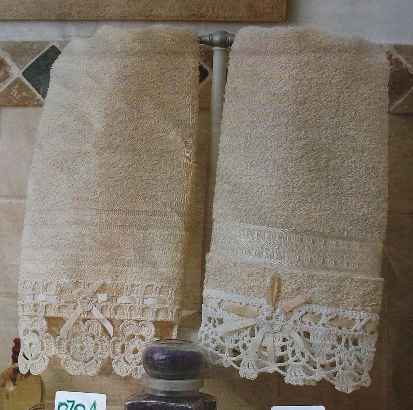 Tejidos la chinita puntillas para toallas de ba o - Puntillas para cortinas ...