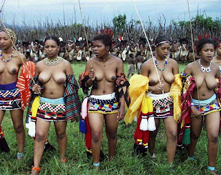naked Zulu women