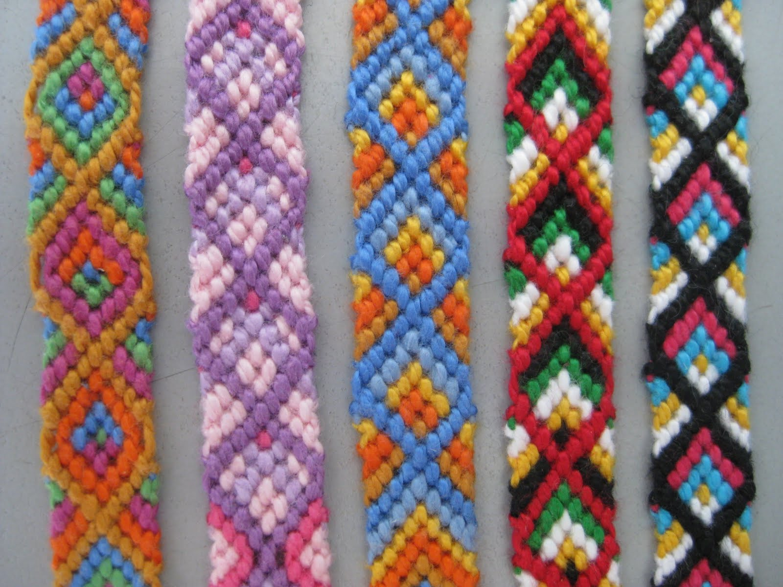 Friendship Braclet Patterns Free Patterns
