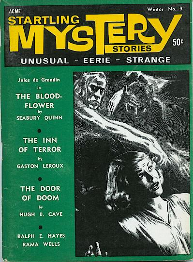 barebones ezine The Health Knowledge Genre Magazines Part Four Startling Mystery Stories