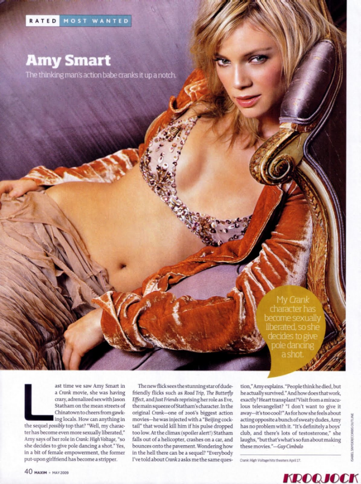 Amy Smart Sexy Photos sexy woman gallery: amy smart maxim scan may 2009