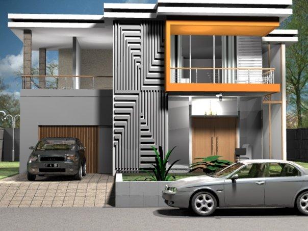 3d house design minimalis a1 home design for Design minimalis