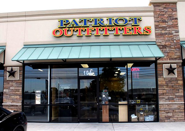11b9b7788a8 PATRIOT OUTFITTERS  Patriot Outfitters Lackland store is now open!