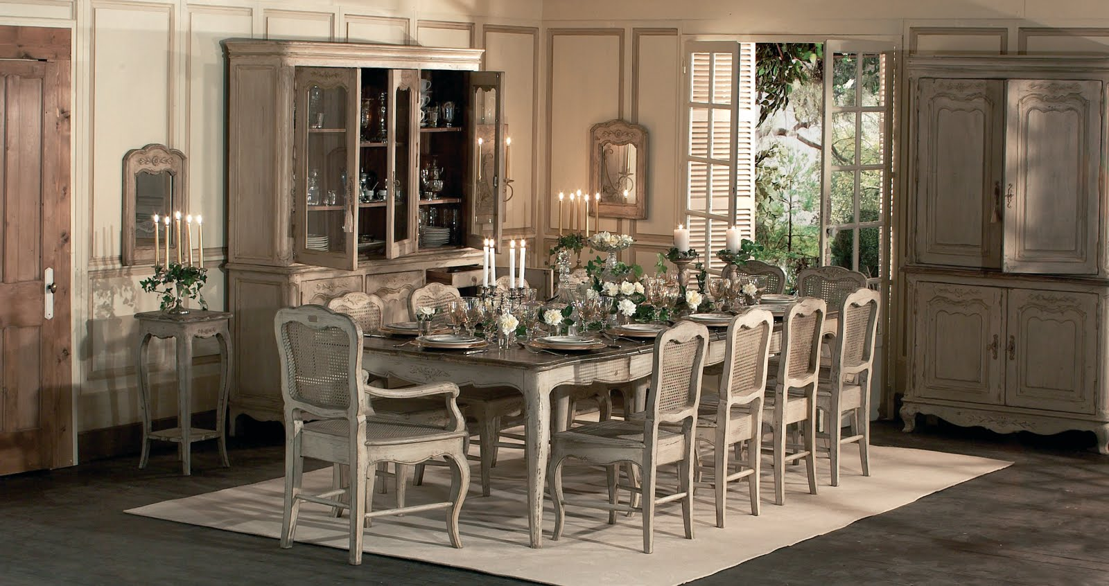 Modern French Country Dining Room | New Style for 2016-2017