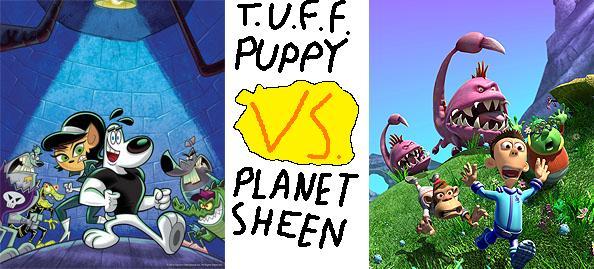 Random Fandom T U F F Puppy Vs Planet Sheen
