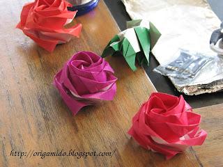 How to make a new Kawasaki rose (Angled Kawasaki Rose): page 1 | 240x320