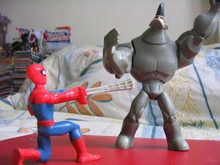 Marvel Legends Spectcular Spider-man Rhino Shocker Electro