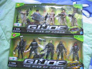 GI JOE The Rise of COBRA Combat Heroes Action Battlers 5 Packs Armored Panther Rockslide Mole Pod Snake Trax Dragonhawk XH1 Pit Terra Viper Wild Bill Sgt Thunderblast Snow Job Scrap Iron Conrad Duke Hauser Wallace Ripcord Weems Commando Sgt Stone Speed Metal Grunt Destro Snake Eyes Storm Shadow Baroness Cover Girl Commander M.A.R.S.