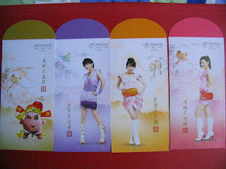 Taiwan Band Girl Band S.H.E. Ang Pow Hong Bao Red Packet Gift Packet Chinese New Year