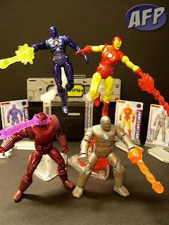 Iron Man 2 movie Crimson Dynamo Stealth armor