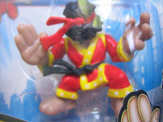 Marvel Super Hero Squad Spider-man Shang Chi Error Variation pack