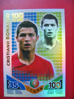 Futera Topps Attax Soccer Football World Cup FIFA South Africa Cards Cristiano Ronaldo Madam Tussaud David Beckham Steven Gerrard