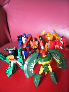 Transformers G1 Autobots Cosmos Wheelie Rodimus Warpath Brawn Beachcomber