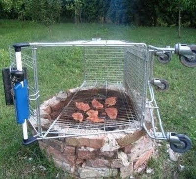 shopping-cart-as-grill