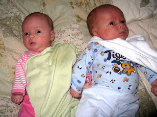 961795b087c8 Boston Twins  Two Months Old Today!