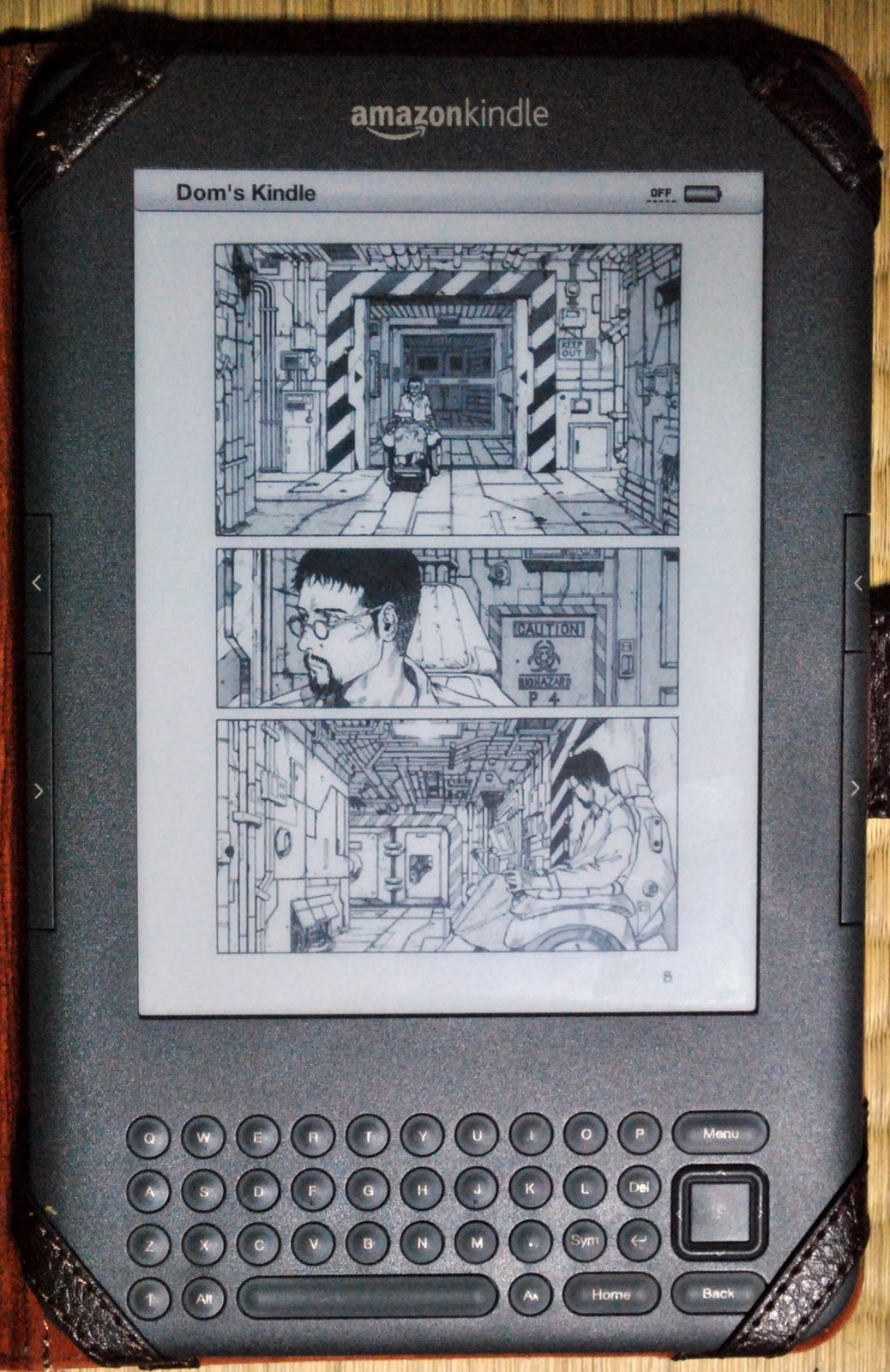 Using an Amazon Kindle 3/4 Part 2: Reading Manga - AccessJ