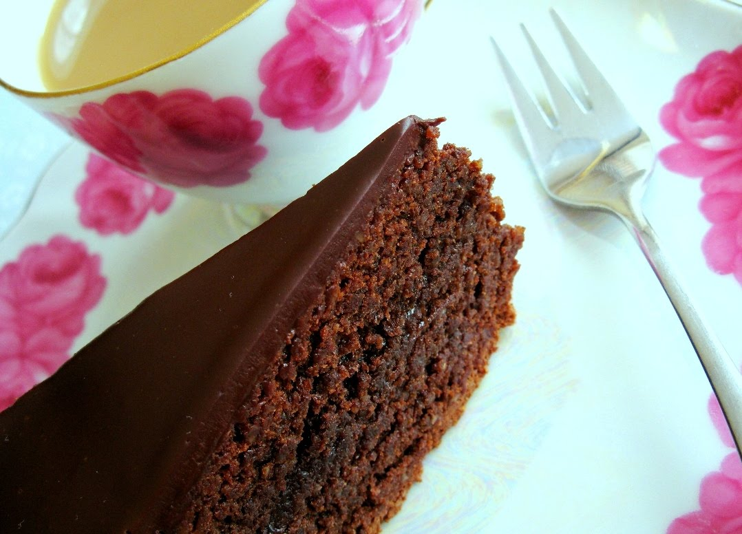 Flavours To Savour Flourless Sacher Torte Rich Amp Dense