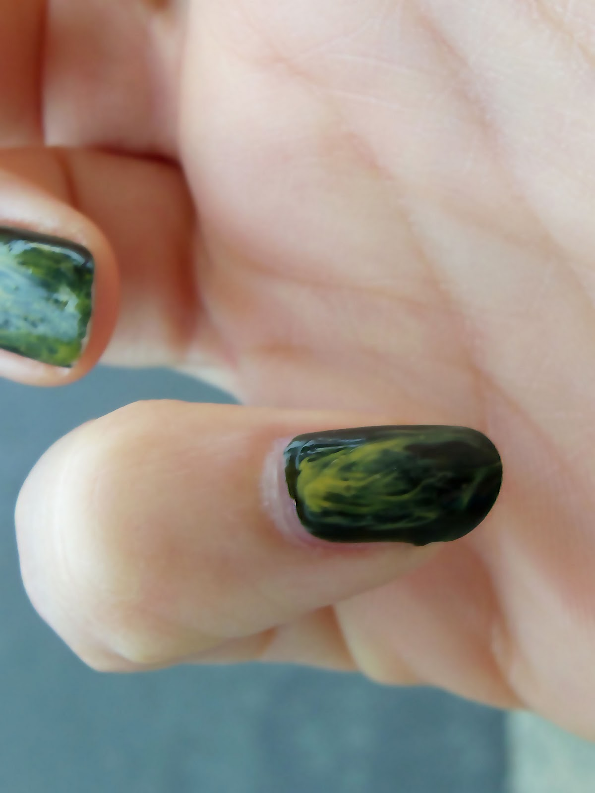 Watercolor Nails Nail Tutorial A Mused