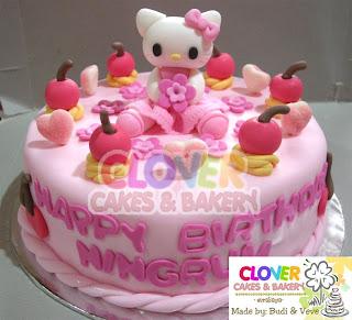 Hello Kitty Istana Kue Unyu Unyu
