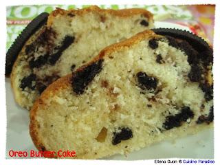 Oreo Butter Cake Recipe Singapore