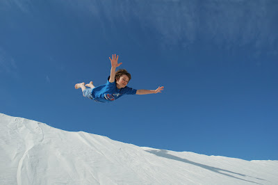 White Sands Flying Leap