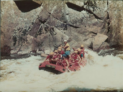 Whitewater Rafting, The Poudre River, 1960's