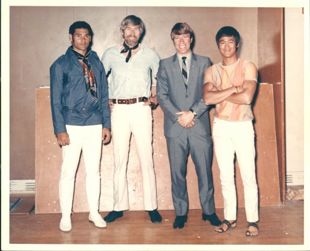 did ali and bruce lee ever meet