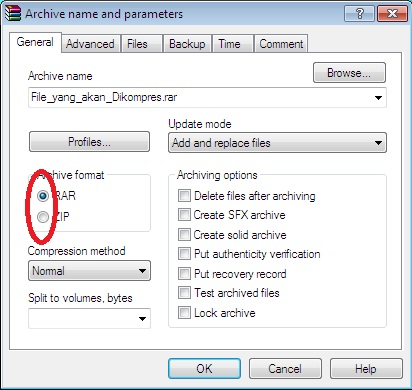 how to add password to winrar