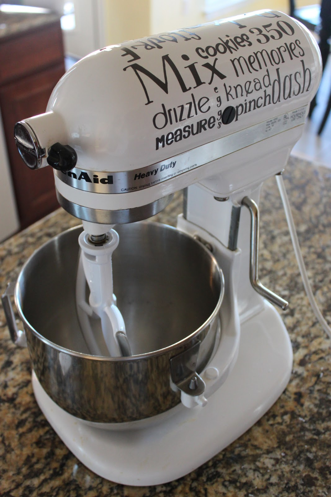 A Little Of This A Little Of That Kitchen Aid Mixer