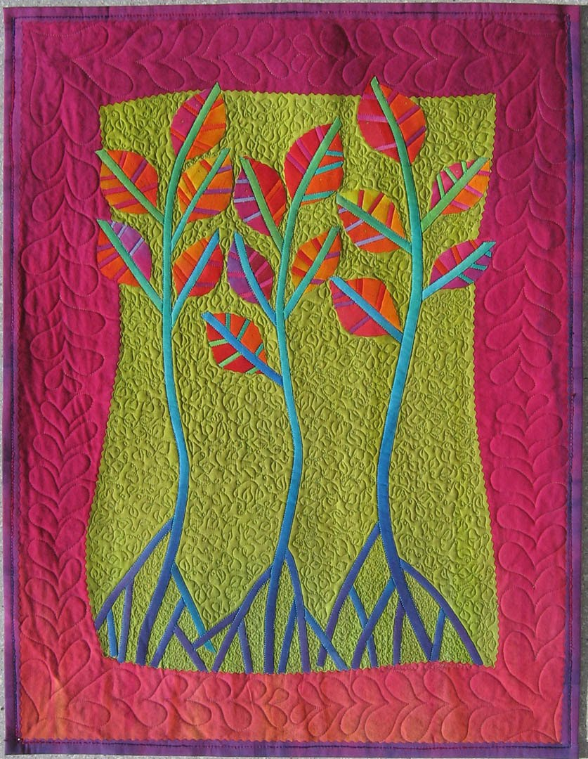 Quilt Inspiration Dances With Nature The Quilts Of