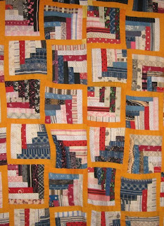 Barbara Brackman S Material Culture Quarter Log Cabin Or