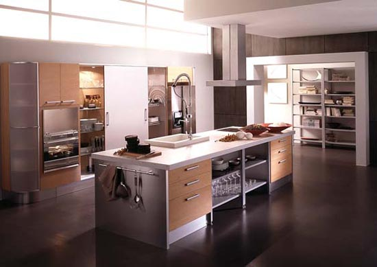 Kitchen cabinets design for professional chef kitchen - Professional home kitchen design ...