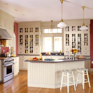 Glass Kitchen Wall Cabinets