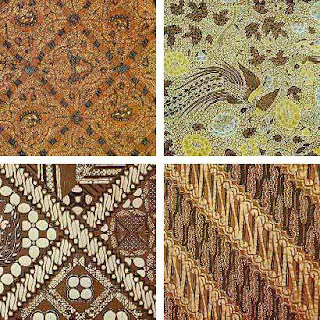 Traditional Indonesian Batik Pattern