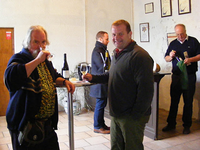 Tasting room at Chateau Gaudrelle, Vouvray.  Indre et Loire, France. Photographed by Susan Walter. Tour the Loire Valley with a classic car and a private guide.