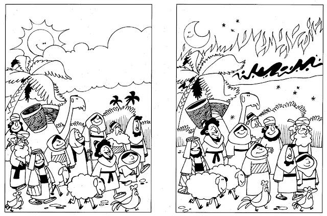 Buenas Noticias Para Los Niños La Columna De Nube Y De Fuego