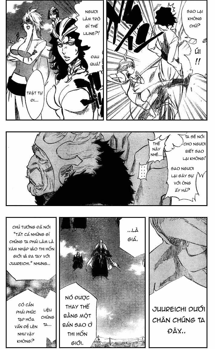 Bleach chapter 317 trang 12