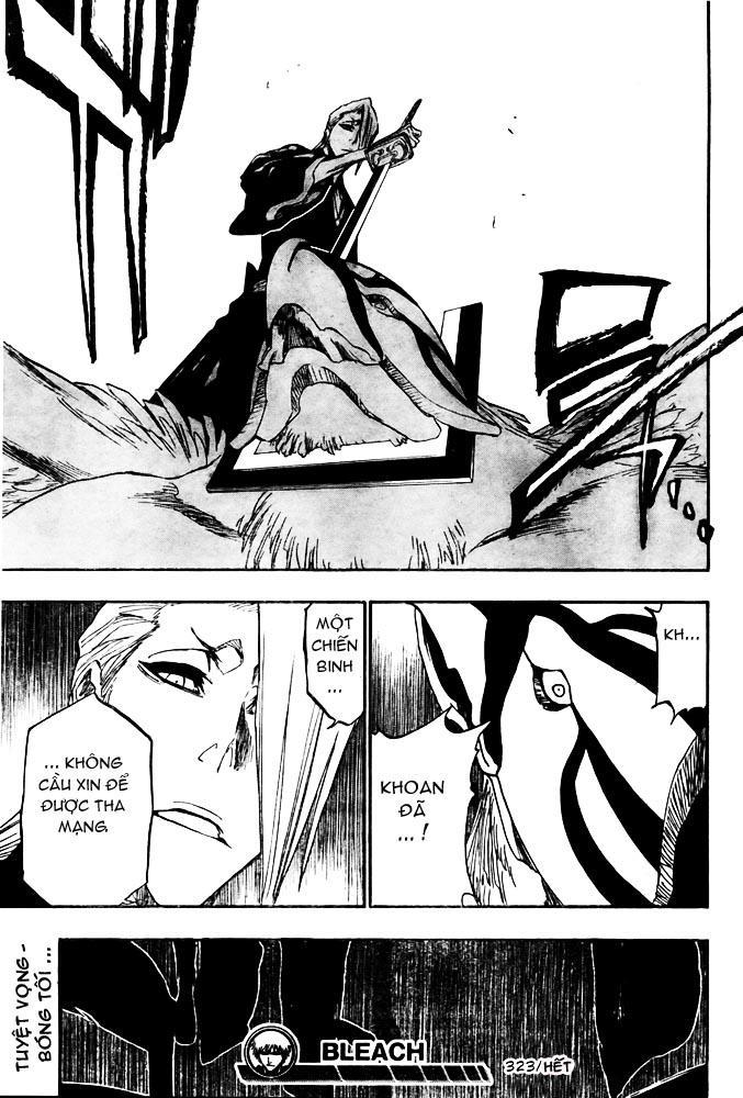 Bleach chapter 323 trang 21
