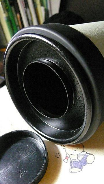 Pentax 75SDHF 可作鏡前減光的蓋子