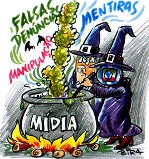 Resultado de imagem para midia golpista e as manifestações no brasil
