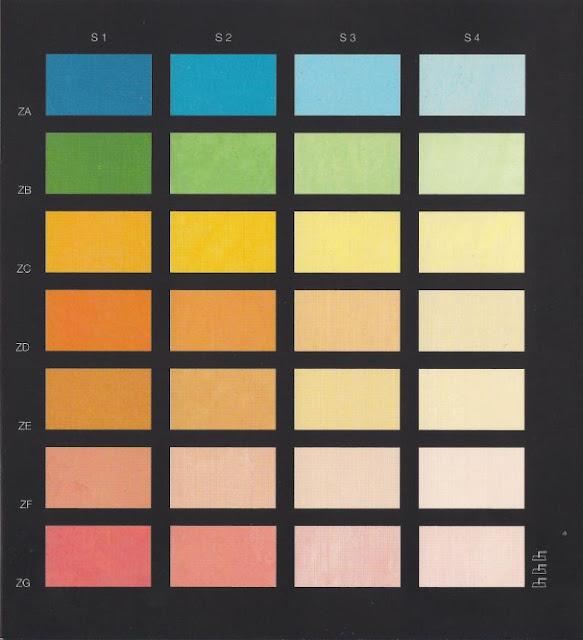 Cartella colori sikkens good tabella colori vernici per for Catalogo colori per interni