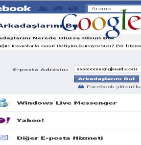 google+facebook+gmail+yasağı