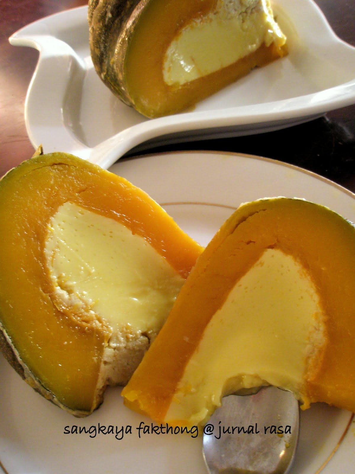 Resep Puding Labu Kuning : resep, puding, kuning, Resepi, Puding, Kuning, Hirup