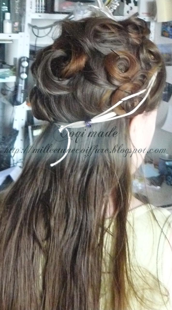 tuto coiffure le chignon atome coiffure cheveux long extension cheveux. Black Bedroom Furniture Sets. Home Design Ideas