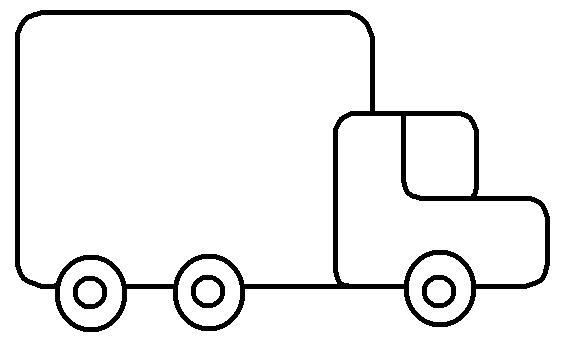 Desenhos Para Colorir: Desenho De Caminhão Para Colorir