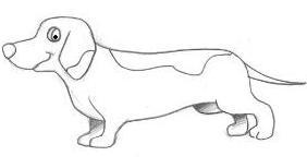 Desenhos Para Colorir Desenho De Cachorro Salsicha Dog Cachorro