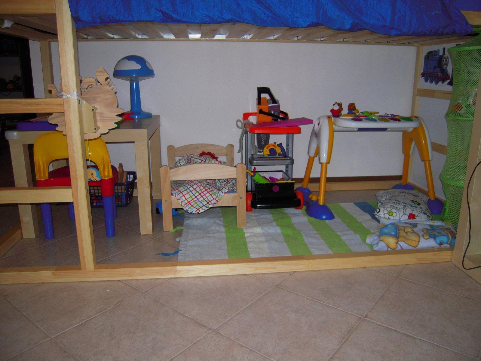 Letto Ikea Kura Montessori Ikea Hack Kinderbett Kura Bett Wird Zum