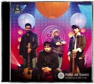 cd rosa de saron - acustico 2009