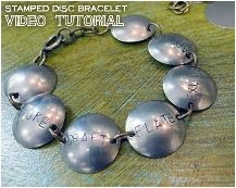 How To Make Metal Stamped Jewelry Tutorials The Beading